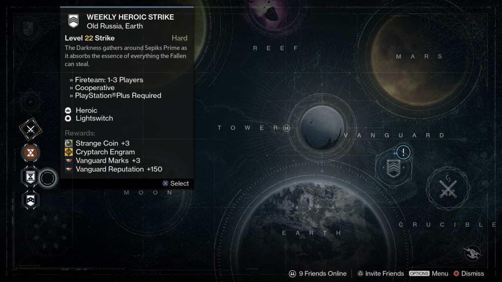 Destiny Weekly Missions