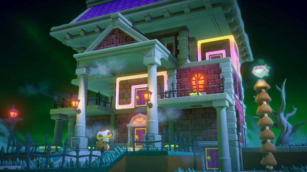 Haunted mansions are the perfect place for brain bending puzzles.
