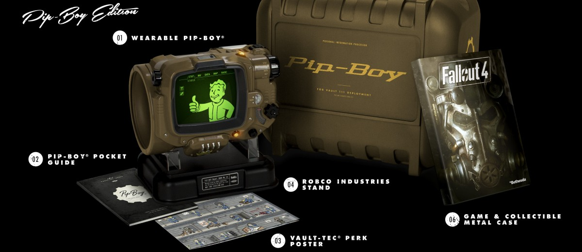 Best Buy Lists Fallout 4 Pip-Boy Collector's Edition for $119