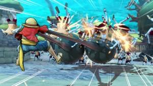 Luffy smash!