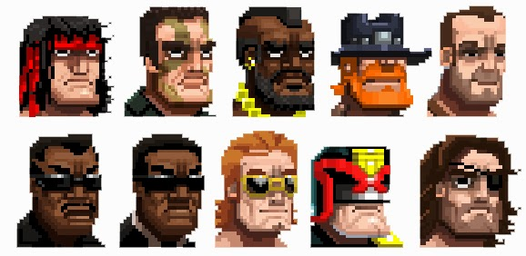 The Bros of Broforce