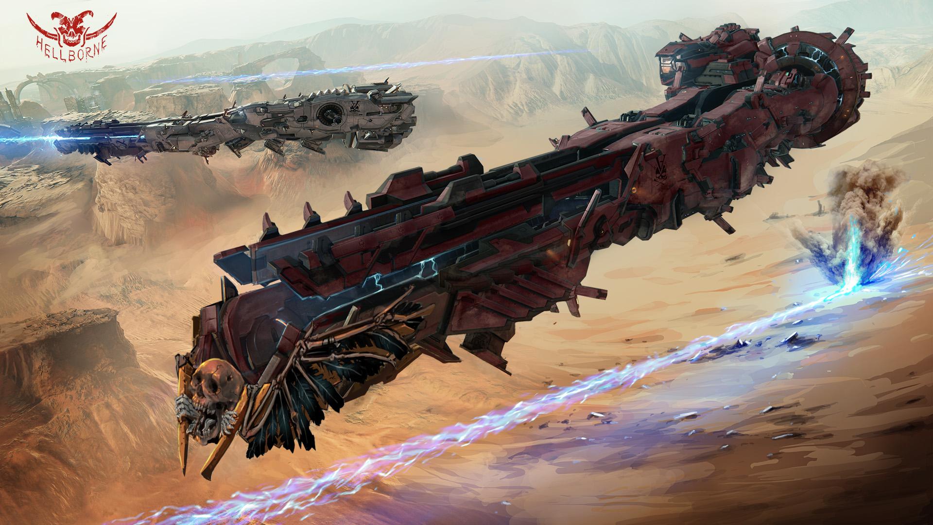 Heroship_Hellborne-Medium-Artillery-Cruiser