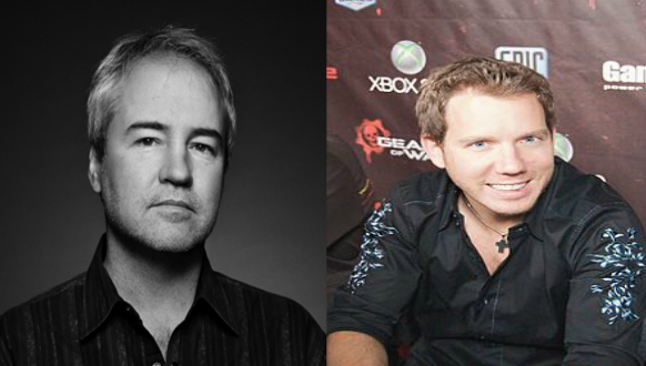 Vince Zampella and Cliffy B, two developers with similar visions for the future the shooter genre.