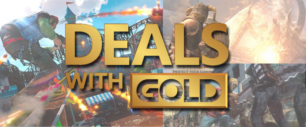 Deals With Gold Revealed For Xbox One And Xbox 360 Gaming Access Weekly