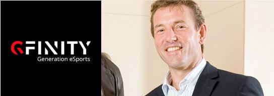 Neville Upton of eSports partner Gfinity