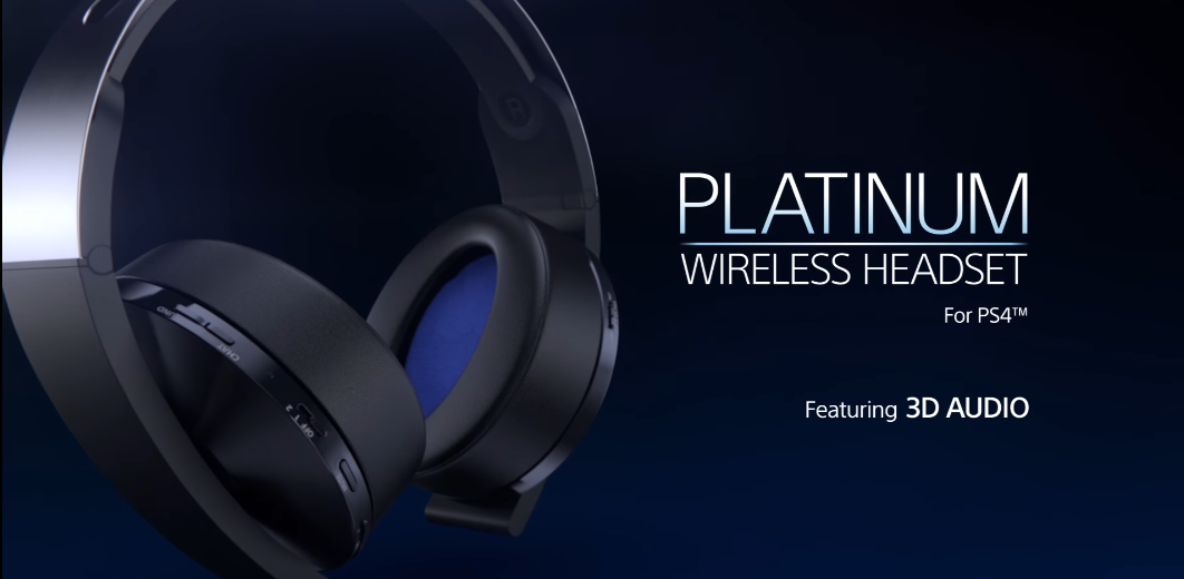 Sony Reveals New Platinum Wireless Headset For Ps4 Gaming Access Weekly