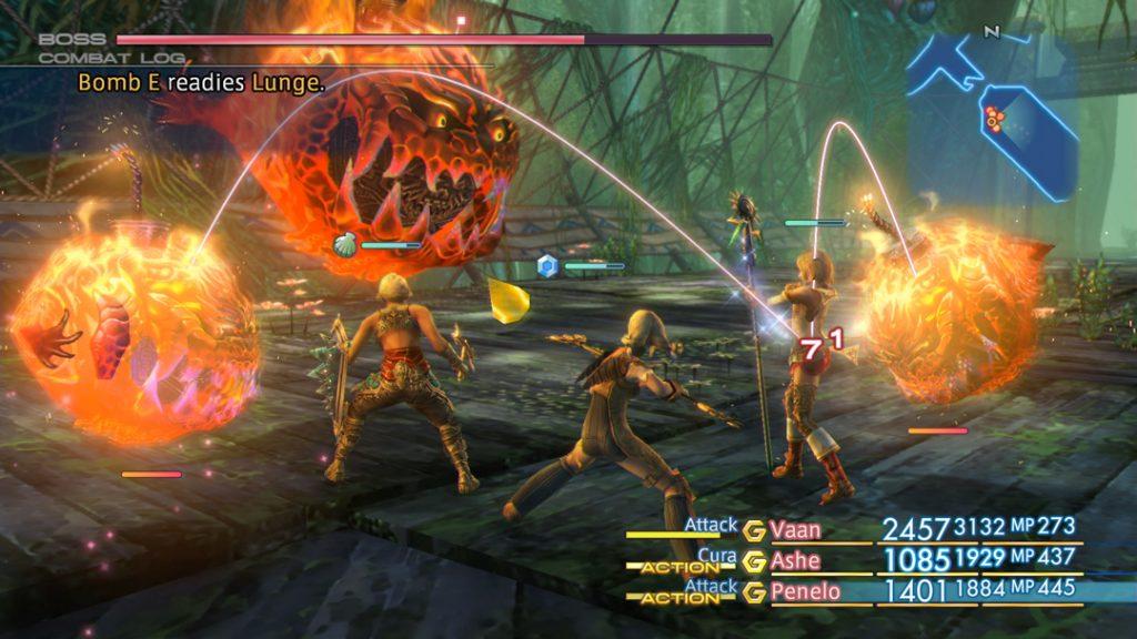 FFXII Battle Screenshot