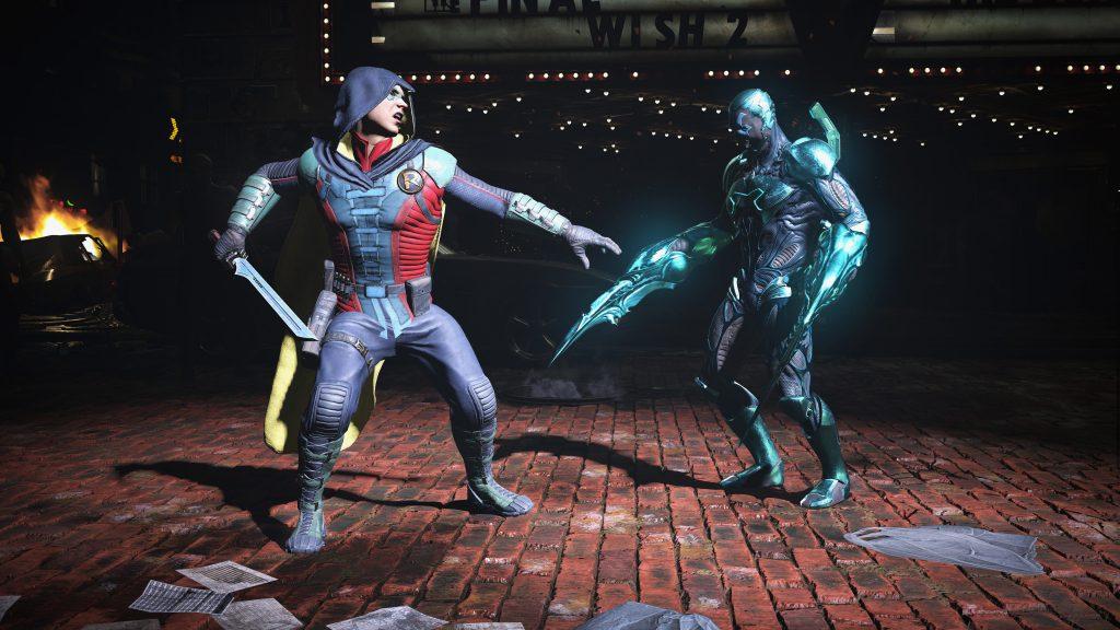 Injustice 2- Robin vs Blue Beetle