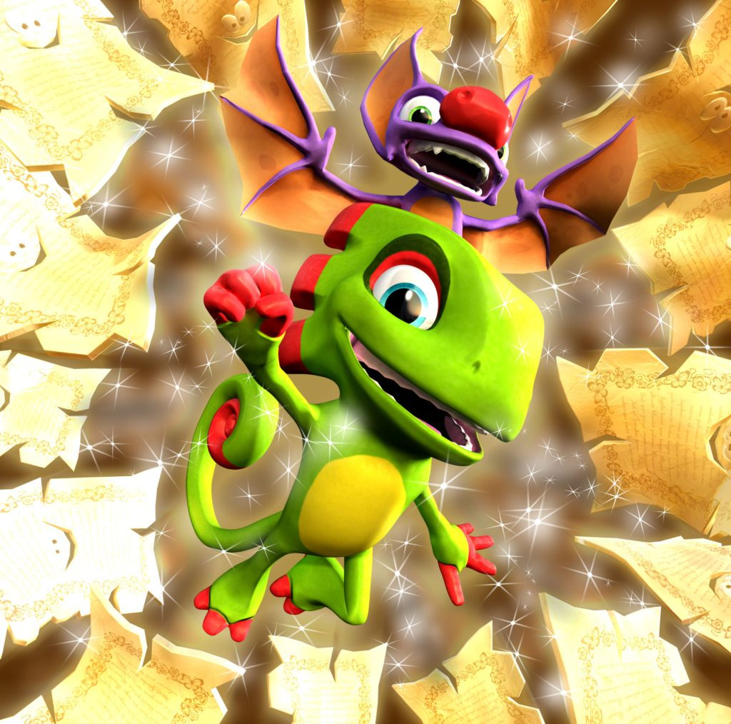 Yooka Laylee Goes Gold