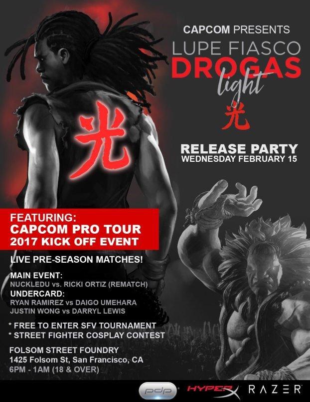 Capcom Presents Drogas Light