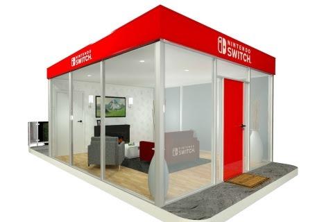 Nintendo Switch pop-up installations