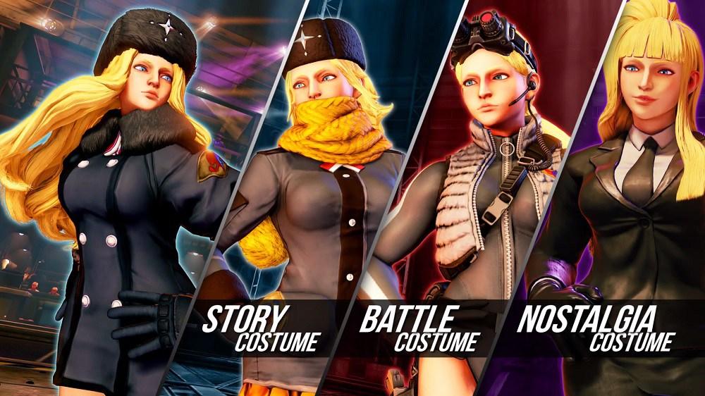 Street Fighter V Kolin Costumes