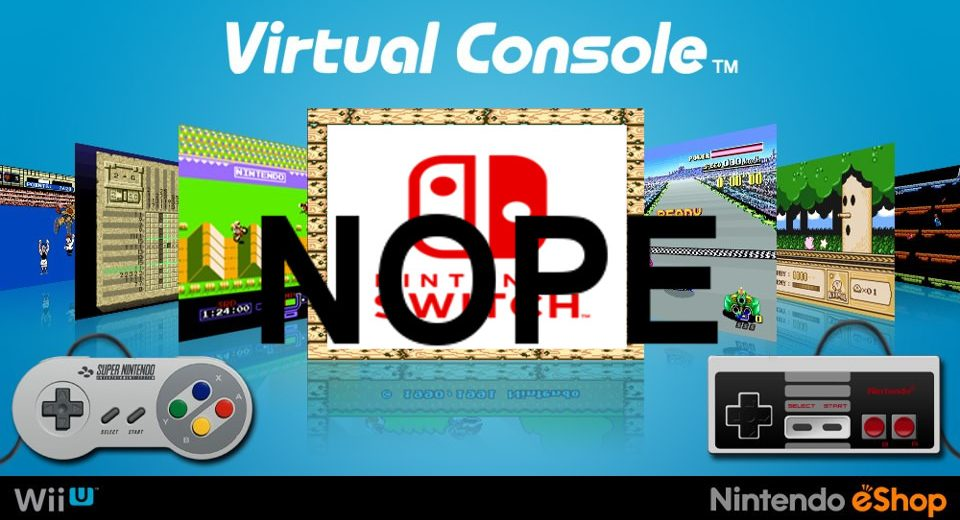 Nintendo Switch to Launch Without Virtual Console, Video