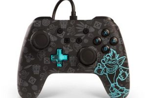 crash bandicoot controller