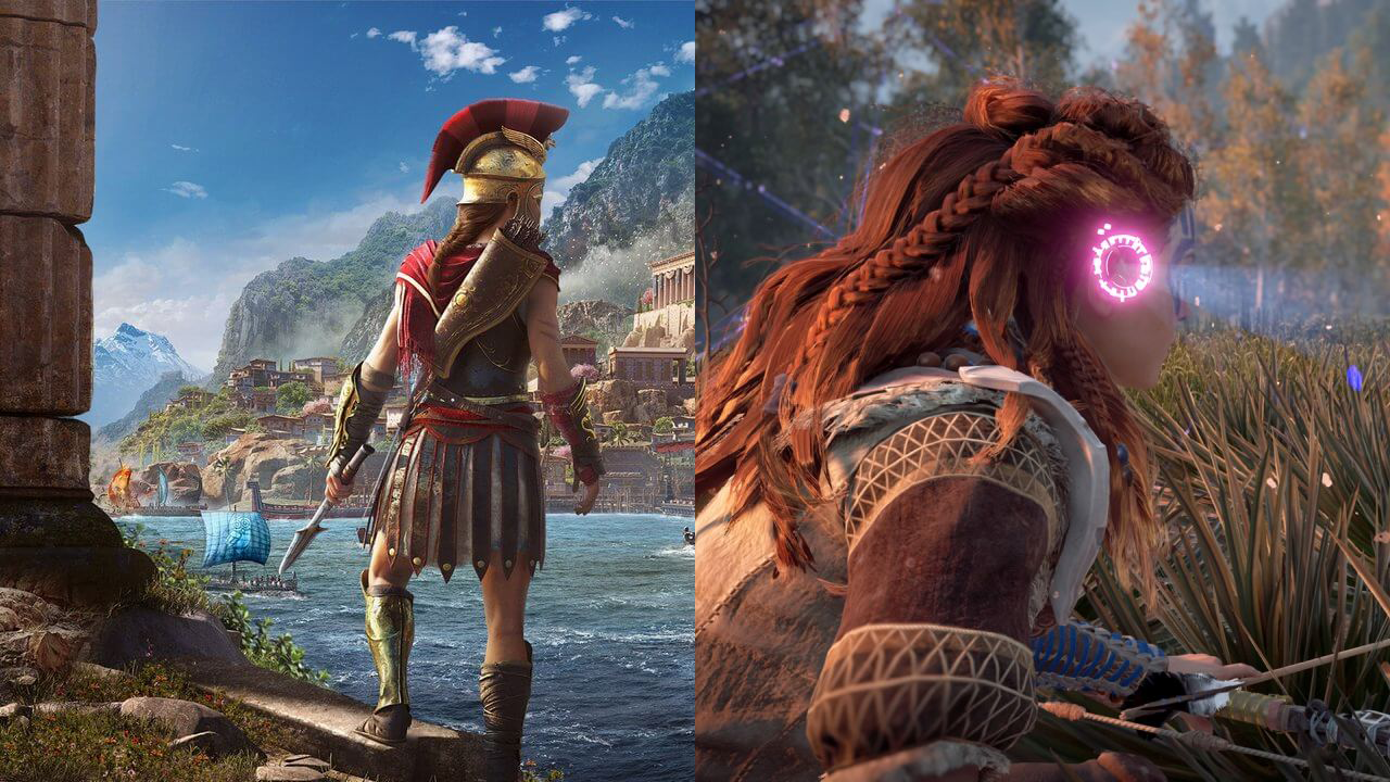 Assassin's Creed Odyssey Vs  Horizon Zero Dawn, Who Did It