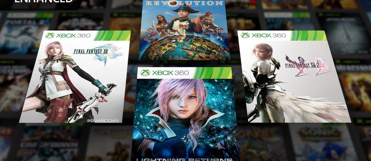 Final Fantasy XIII Trilogy Gets Xbox One X Enhancements and