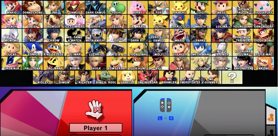 Rumor: Super Smash Bros  Ultimate DLC Character Roster Leaked