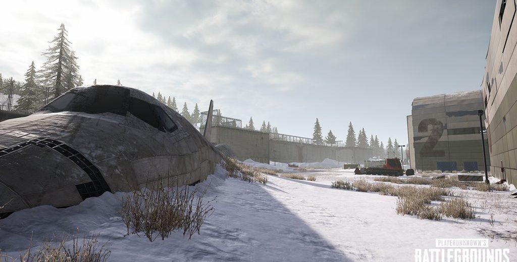 Pubg snow map