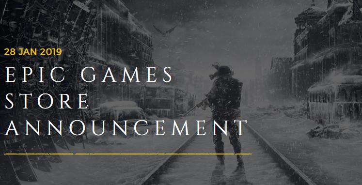 Metro Exodus Now Exclusive to Epic Games Store, Valve Not Happy
