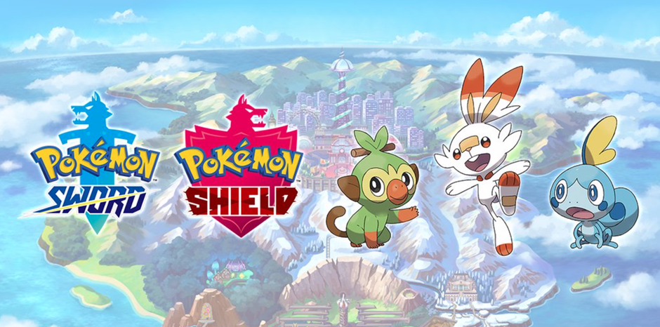 pokemon sword and shield logo