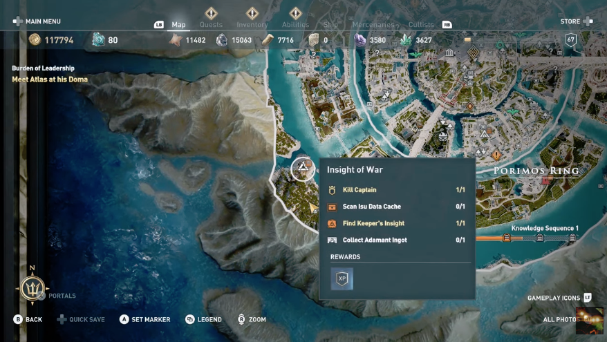 Assassin S Creed Odyssey The Fate Of Atlantis Episode 3 All Skill