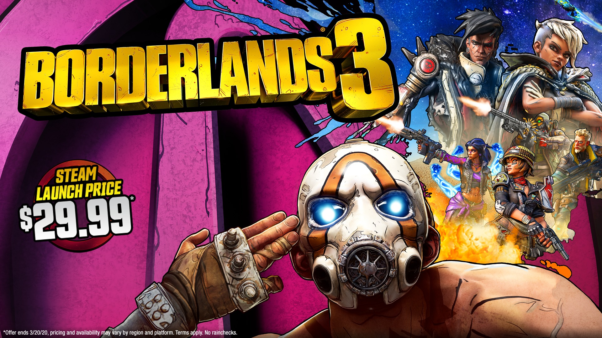 Borderlands 3 Is 50 Off On Steam Gaming Access Weekly